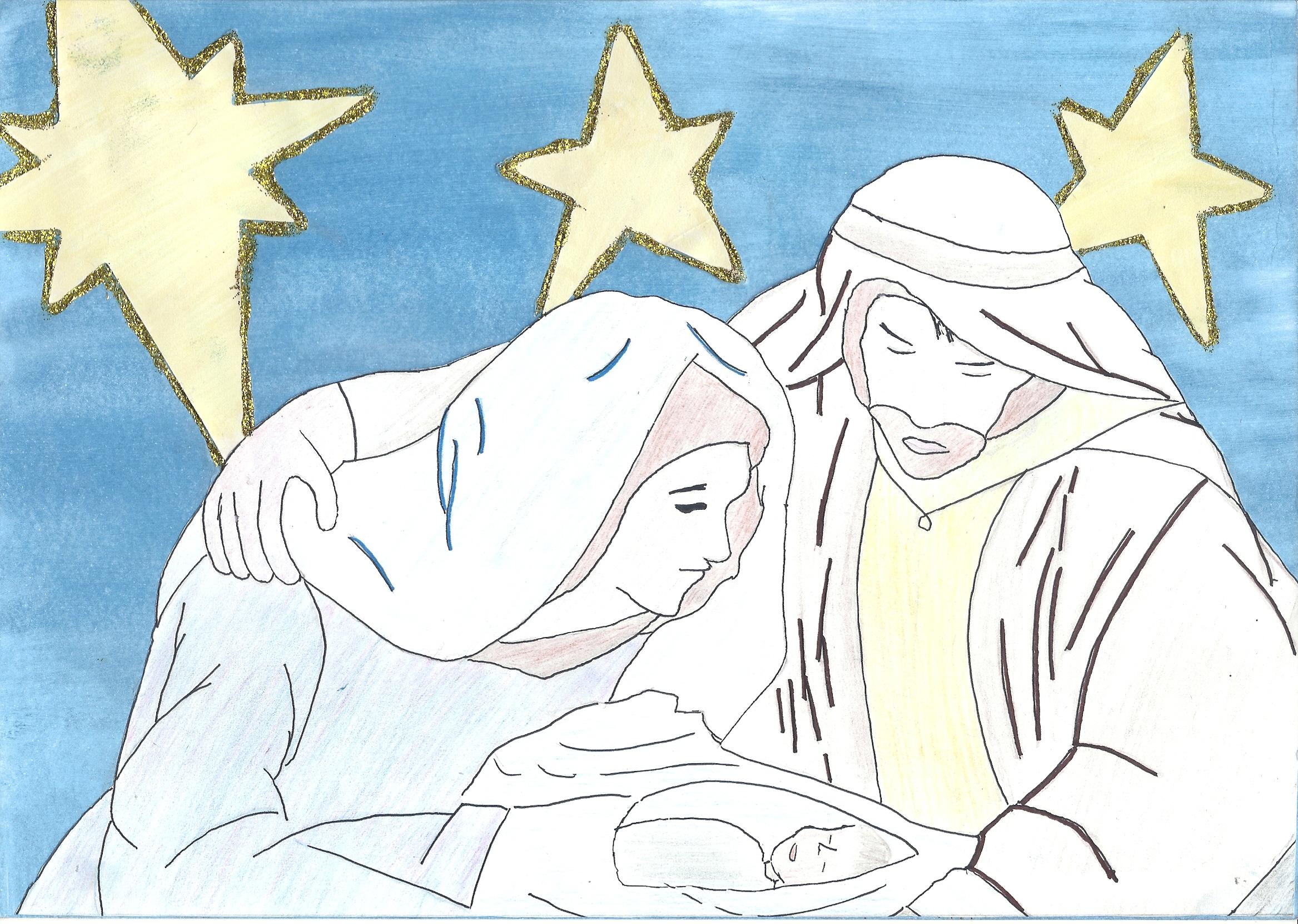 2D. Laura Puértolas Tejero. 15 años. Cat. D. Estrellas en el cielo y la tierra. Hermandad de Antiguos Empleados CAI
