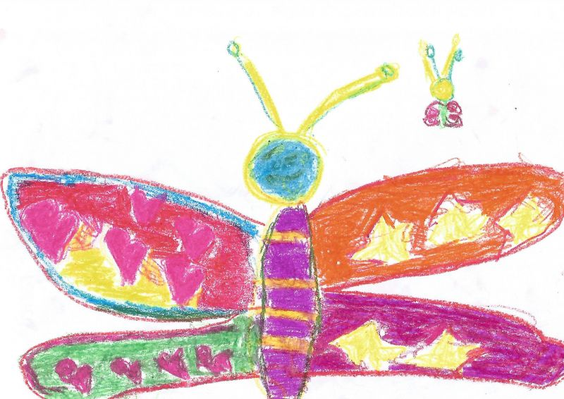 MARTA AYUSO MELCOM Mariposas de colores DIBUJO