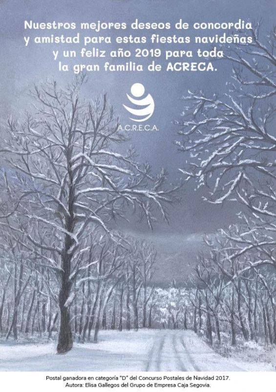 Felicitación ACRECA Navidad 2018