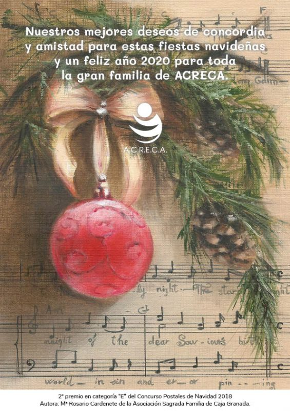 postal felicitacion Acreca 2019