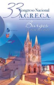 CARTEL XXXIII CONGRESO ACRECA 2020