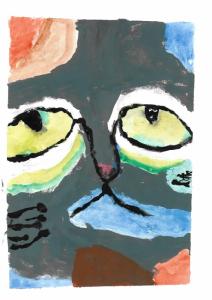El gato triste