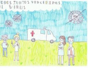 Segundo premio - todos juntos venceremos al virus